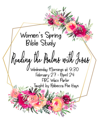 Women's Ministry | First Baptist Church Waco