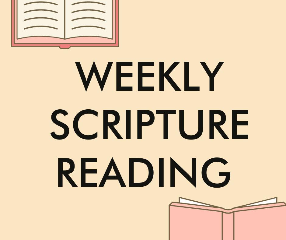 FBC Waco Daily Scripture Readings